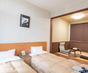 Japanese-European style room
